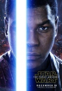 'Star Wars: The Force Awakens', Finn Character Poster