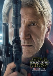 'Star Wars: The Force Awakens', Han Solo Character Poster