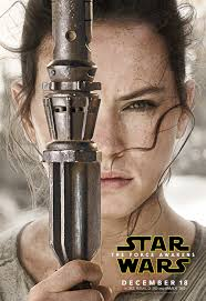 'Star Wars: The Force Awakens,' Rey Character Poster